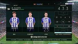 بارسلونا3  - 0 آلاوز  HD