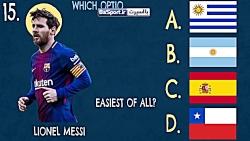 چالش جالب شناختن ملیت بازیکنان فوتبال