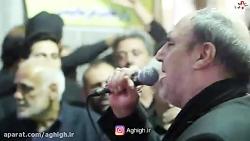 چهارپایه خوانی حاج غلامرضا عینی فرد مسلمیه97 شب سوم