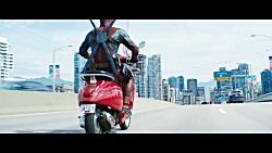 فیلم Deadpool 2 صحنه حمله به کاروان