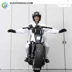 موتورسیکلت هوشمند هوند...