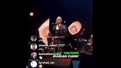 اجرای آهنگ سوغاتی هایده توسط مهران مدیری در کنسرتش