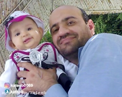 مراسم وداع با شهید مدافع حرم علی سلطان مرادی