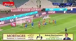 خلاصه بازی استقلال-فولاد خوزستان