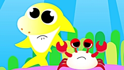 Baby Crab, Where is Your Shell? | Fun Song with Baby Crab and Baby Shark | Fun S