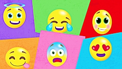 The Emoji Song | Bouncing Balls All Around | Fun Song for Kids by Little Angel