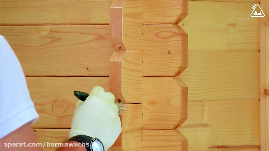 مراحل رنگ آمیزی چوب (رنگ پوششی):