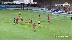 خلاصه بازی سپاهان 2-2 تراکتورسازی (سوپرگل اسماعیلی فر)