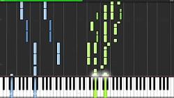 آهنگ دزدان دریایی کارائیب با پیانو (حرفه ای)