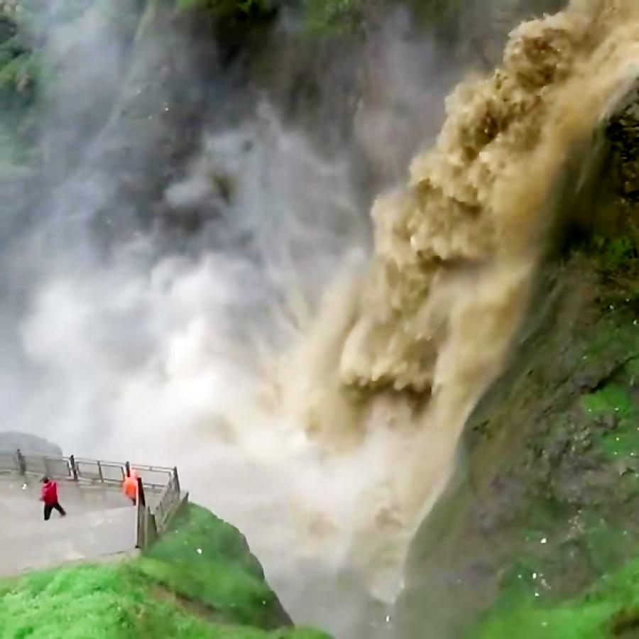 آبشار شلماش، آبشاری زیبا در سردشت استان آذربایجان غربی