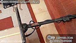 تست هوایی فلزیاب QUEST Q40 | فلزیاب شیراز