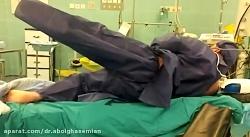 تعویض مفصل پیوند عضله برای درمان فلج عضله ابداکتور لگن
