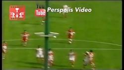 آخرین بازی مهدی هاشمی نسب با لباس پرسپولیس با سر شکسته