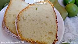 کیک ماست و لیمو