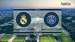 PES 2019 -رئال مادرید و پاری سن ژرمن(ضربه آزاد گرت بیل)