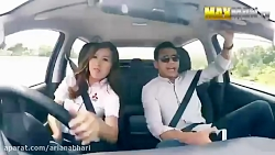 کی گفته خانوم ها بلد نیستن رانندگی کنن.... بفرما
