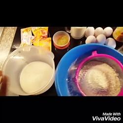 طرز تهیه کیک ساده(کیک پایه)