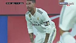 خلاصه بازی خیرونا 1-4 رئال مادرید (دبل بنزما | HD)
