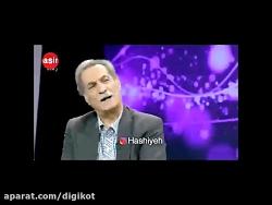 تیکه های سنگین بازیگر سینما و تلوزیون به حسن روحانی در برنامه زنده