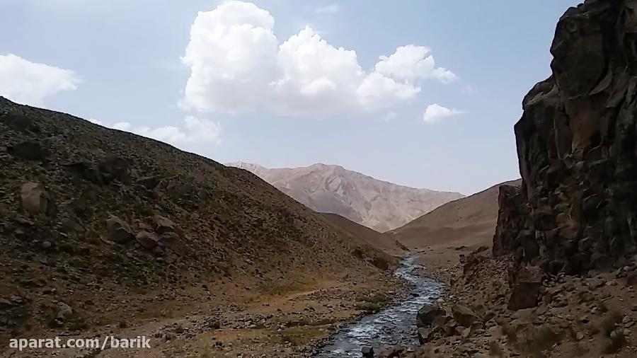 رودخانه دلیچای کوه دماوند (دشت لار)