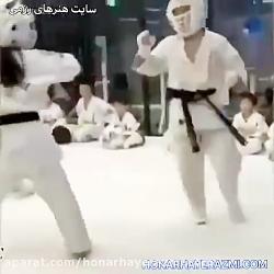 مبارزه کودکان در کیوکو...