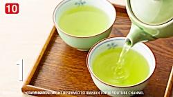 خواص و فواید نوشیدن چای سبز