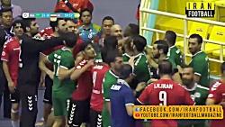 درگیری و دعوا در بازی هندبال ایران و عربستان - بازیهایی آسیایی ۲۰۱۸