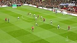 خلاصه بازی منچستریونایتد 0-3 تاتنهام (HD|دبل لوکاس مورا)