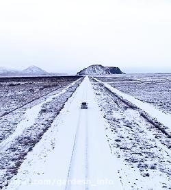 کلیپ طبیعت یخی ایسلند