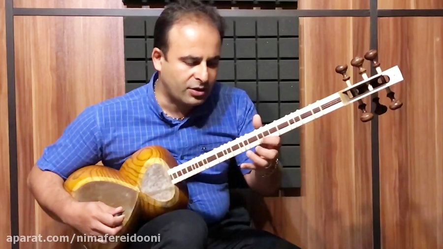 فیلم آموزش تمرین بیات اصفهان (مایهی سل) حسین علیزاده ده قطعه برای تار ۱ نیما فریدونی تار