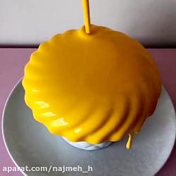 آموزش دیزاین و تزیین کیک در 1 دقیقه