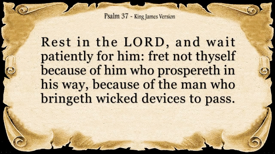 psalm 37 king james version