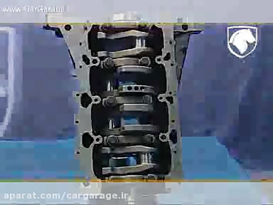 تعمیر موتور سمند EF7 موتور ملی