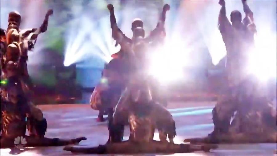 اجرای دوم و بینظیر رقص آکروباتیک Amricas Got Talent - استعداد یابی آمریکا