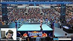 پارت 15 استریم WWE 2k18 ( کشتی کج ) و بازهم سینا x_x