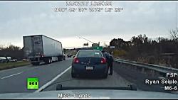 Pull-over thriller: Man shot at Pennsylvan...