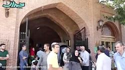 کلیپ گردش در کاروانسرای سعدالسلطنه قزوین