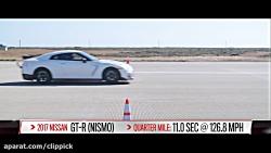 قدرت باور نکردنی ماشین Tesla در برابر ماشین های دیگر...
