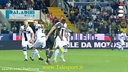 پیروزی یوونتوس مقابل پارما در سری آ ایتالیا
