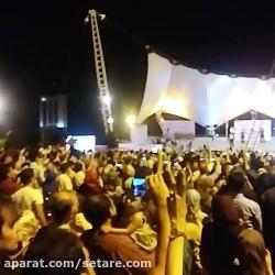 اولین کنسرت خیابانی محمد معتمدی در تهران