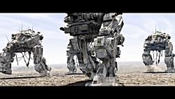 تانک ربات های غولپیکر ن...