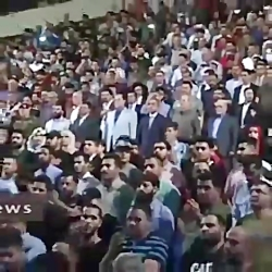 احترام عراقیها به سرود ...