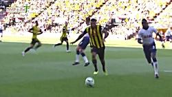 خلاصه بازی واتفورد 2-1 تاتنهام در لیگ برتر انگلیس HD
