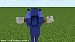 سومین انیمیشن من از ماین ایماتور (تست دویدن و پرش سونیک)