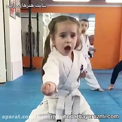 کودک و کاراته - سایت هنر...