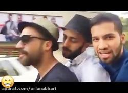 بهترین کلیپ های خنده دار محمد امین کریم پور