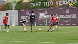 تمرینات امروز بارسلونا ᴴᴰ