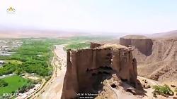 نمایی بی نظیر از دژ تاریخی بهستان