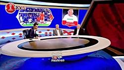 سوتی های متوالی علی پروین در اولین حضور زنده اش در تلویزیون و خنده های شدید عادل