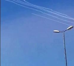 حمله موشکی ایران به پایگاه تروریست های تجزیه طلب کردستان عراق
